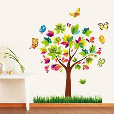 Wandtattoo Wandsticker Baum Schmetterling Kinderzimmer dekorative Neu !!!