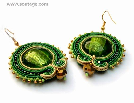 Sultan Earrings by Sutasz-Anka http://www.soutage.com/2013/10/sultan-kolczyki.html