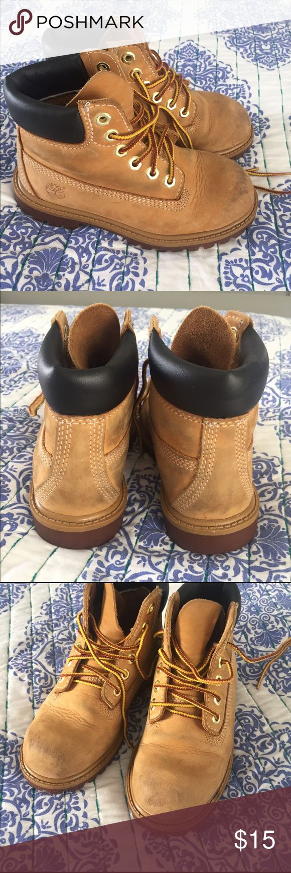 Boys Timberland boots 11.5 Adorable Timberland boots with a lot of life left in them! Timberland Shoes Boots