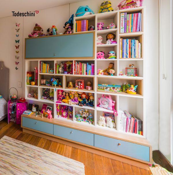 Habitación infantil para niñas. #Diseñodeinteriores  #Decoración  #Todeschini  #ambientes  #mueblesamedida #renovation #interiordesign  #residentialarchitecture #renovacion  #remodelacion #arquitecturadeinteriores