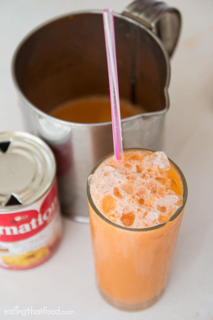 Thai Iced Tea Recipe (ชาเย็น) – Authentic Street Food Style
