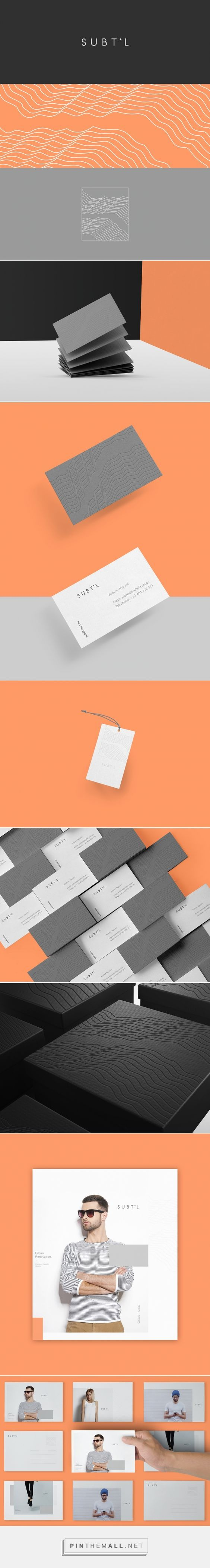 Subtil Branding on Behance | Fivestar Branding – Design and Branding Agency & Inspiration Gallery