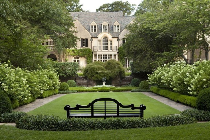 Boxwood, the lovely grounds of the home of Danielle Rollins, author and contributing editor to Veranda magazine.