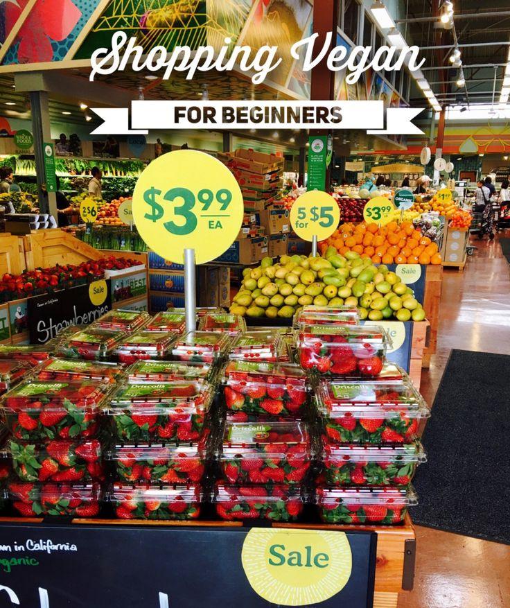 newbies guide to shopping vegan