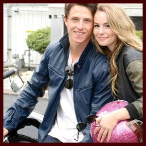 Shane Harper and Bridgit Mendler aka Spencer Walsh and Teddy Duncan- Good Luck Charlie