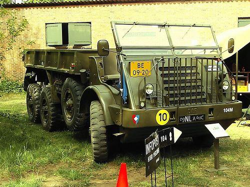 Daf YA328, Royal Dutch Army.