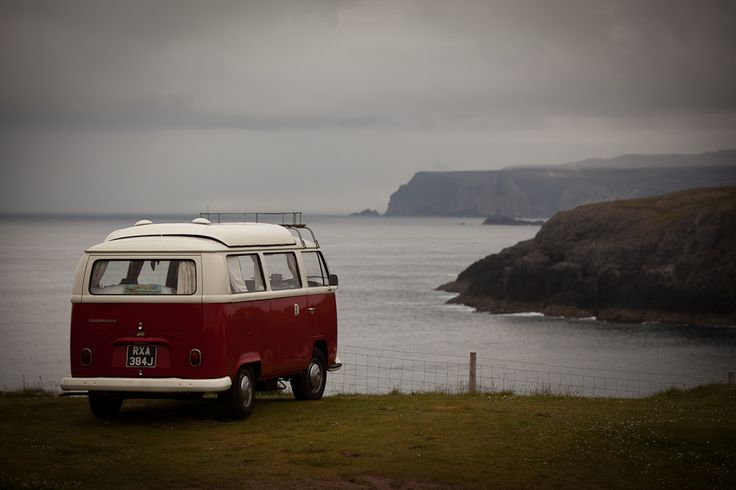 Here are some images from a retro holiday out in the Highlands in Scotland. They traveled all around Scotland in the VW retro campervan. Visit their site for amazing pics