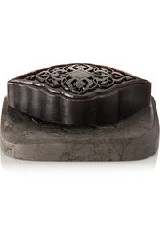 Amber Ma'amoul Soap with Marble Dish, 285g