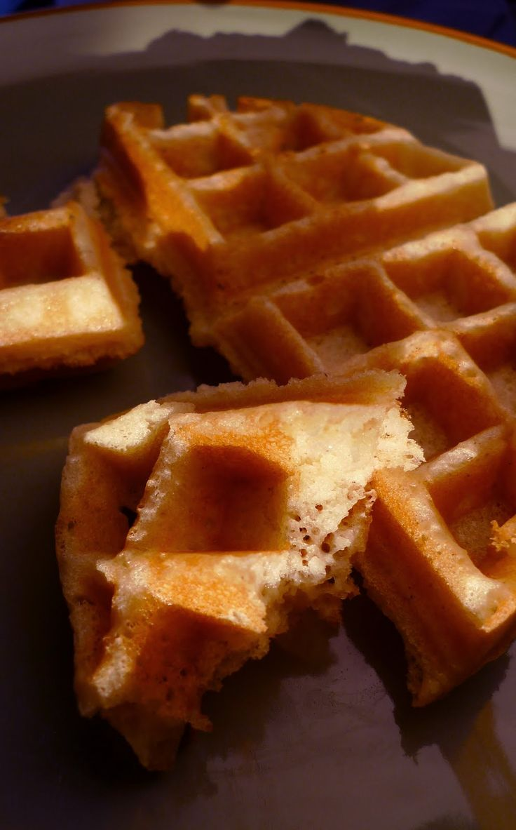 Gluten-free Gourmand: Easy Waffles: a Gluten-Free Dairy-Free Recipe Made these with 1cup+4tbsp Free From Gluten flour (from Countdown) instead of all the other flours. Also subbed olive oil for the canola oil.