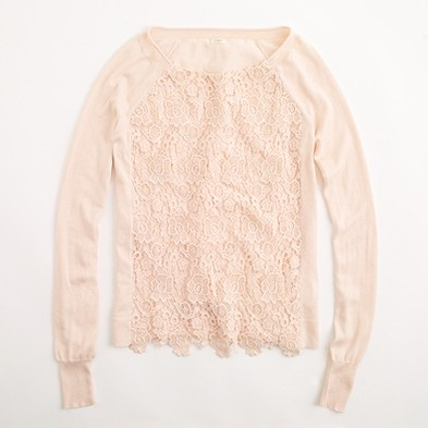 Factory Lace Popover from J. Crew (can't wait for the Edmonton location to open it's doors!)