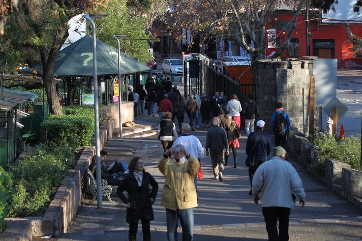Parque Metropolitano contará número de visitantes a través de cámaras de video | Santiago | La Tercera Edición Impresa