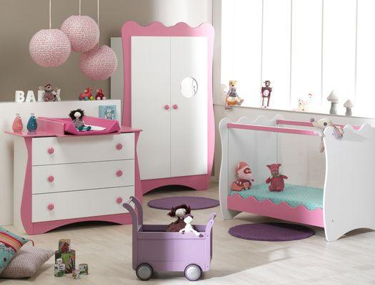 Certains parents aiment respecter les codes couleurs et - Chambre parent bebe ...