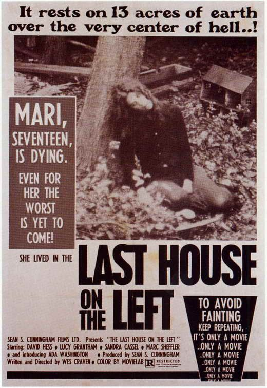 Last House On The Left (1972) - Wes Craven DVD