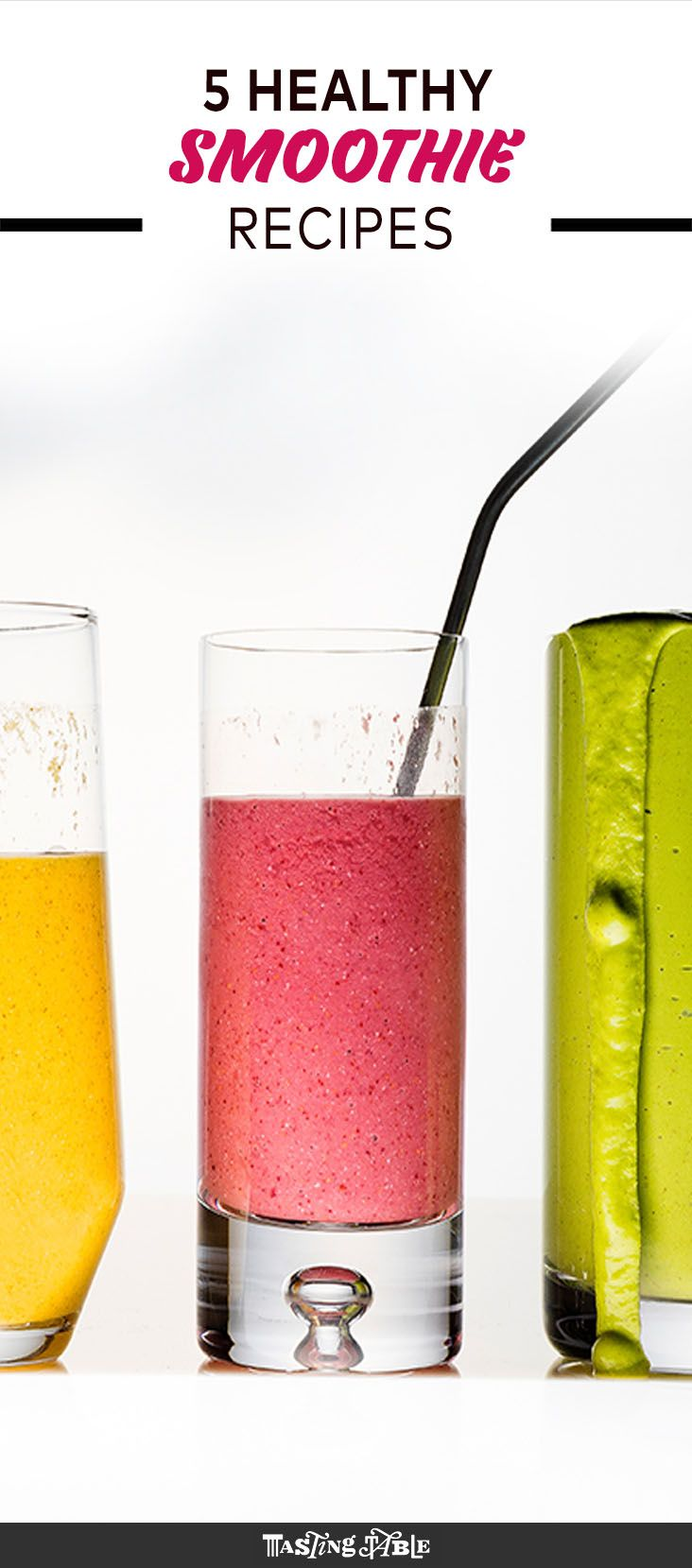Learn the ins and outs of making a healthy smoothie you won't get tired of, then perfect your skills with five vibrant recipes—one for each day of the workweek.