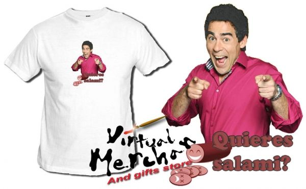 Camiseta Quieres Salami 2 Lqsa Maricos Recio Avecina Antonio Recio Amador Rivas - Bekiro