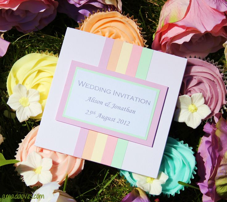 Image detail for -Candy Coloured Wedding Theme | Wedding Blog