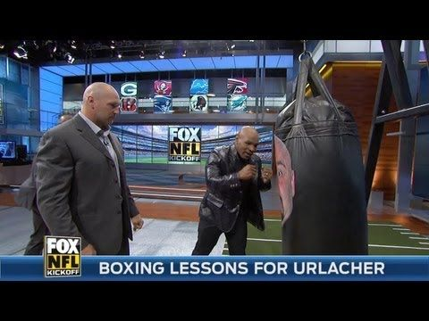 Mike Tyson Teaches Rookies Basic Punching Techniques