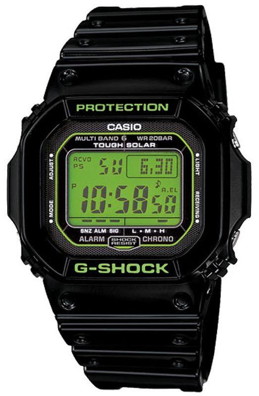 Casio GWM5610B-1 Men's G-Shock Digital World Timer Alarm Watch