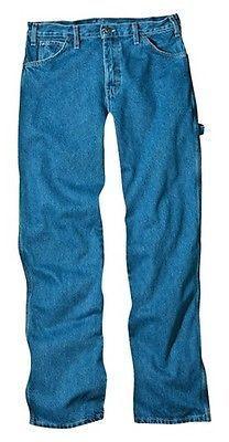 Dickies®; Men's Loose Straight Fit Denim Carpenter Jean