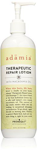 Adamia Therapeutic Repair Lotion with Macadamia Nut Oil and Promega-7, 16.9 Ounce$18.01        http://www.amazon.com/gp/product/B00QH13OX6?ie=UTF8&camp=1789&creativeASIN=B00QH13OX6&linkCode=xm2&tag=daily0714-20