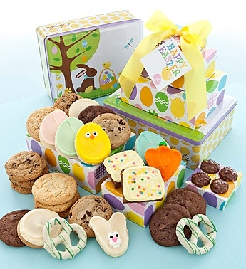 38 best gift ideas images on pinterest cookie bouquet bouquets easter gift tin tower negle Choice Image