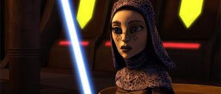 Neon Star Wars: Barriss Offee