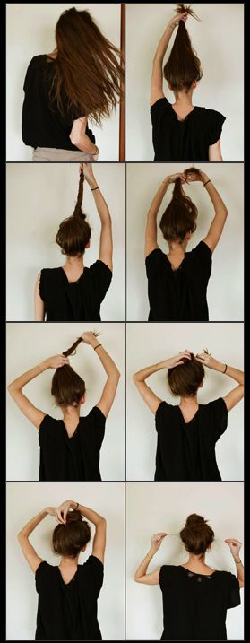 simple hair style for top knot should i cut my hair beleza 8555