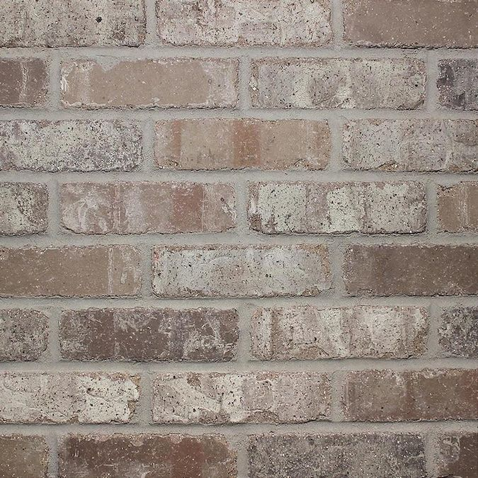 Old Mill Thin Brick Systems Colonial Rushmore 2 25 In X 7 625 In Individual Piece Brick Veneer Lowes Com Thin Brick Tile Brick Veneer Brick Backsplash