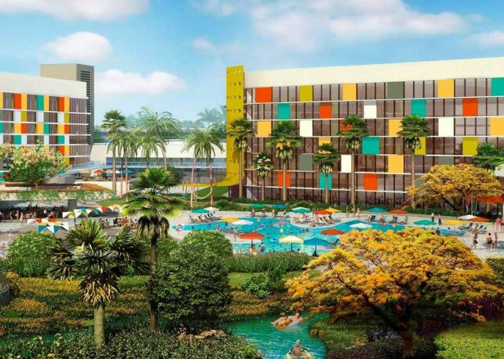In Universal Opened Its Fourth On Site Hotel Cabana Bay Beach Resort
