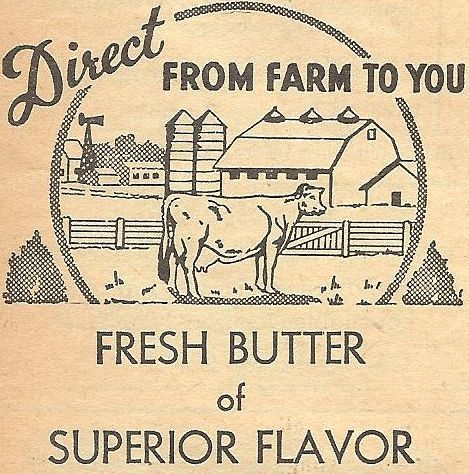 Antique Butter Box Image - FREE Printable from KnickofTime.net
