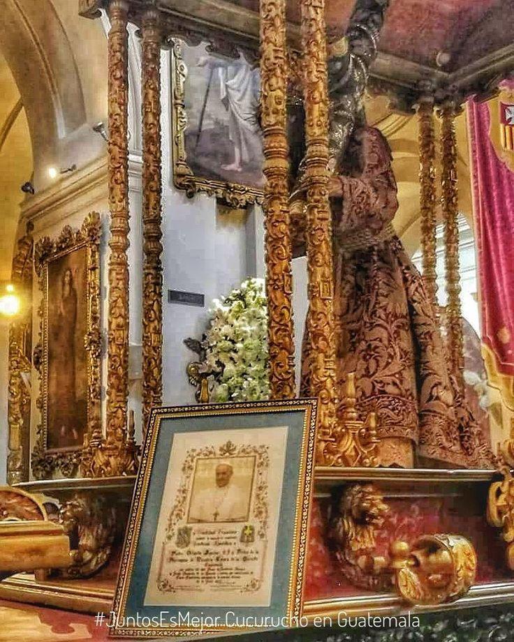 """El #PapaFrancisco envió la """"Bendición Papal"""" por los #300añosDeConsagración de #JesusDeLaMerced a través del Padre Orlando Aguilar.  Por: Cucuruchos Informativos #JuntosEsMejor"""