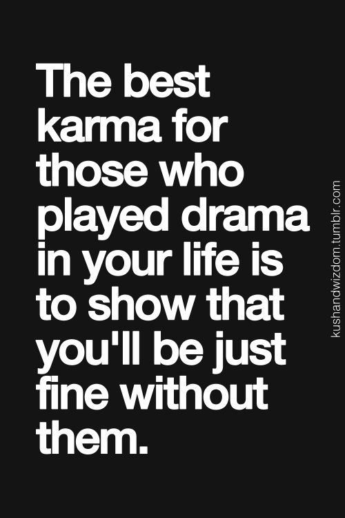 No Drama Quotes And Sayings