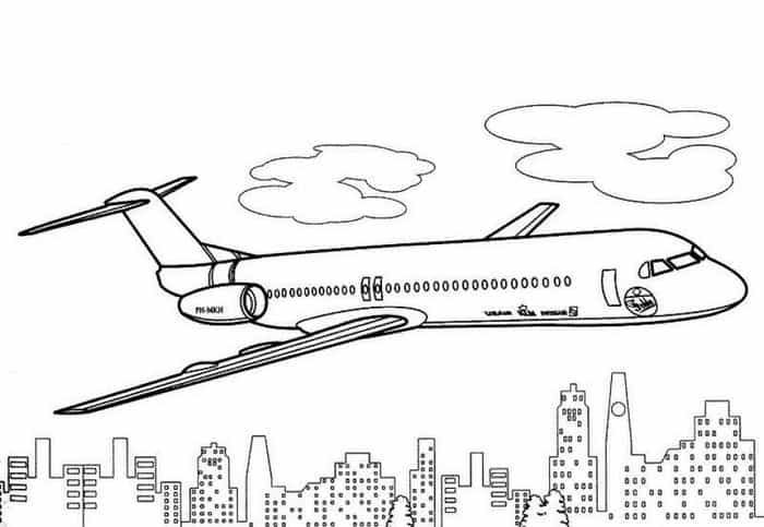 Detailed Airplane Coloring Pages Airplane Coloring Pages Abstract Coloring Pages Coloring Pages For Kids