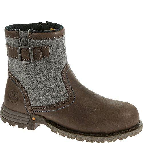 Caterpillar Jace Womens Slip Resistant Steel Toe Boot Mulch - Mulch