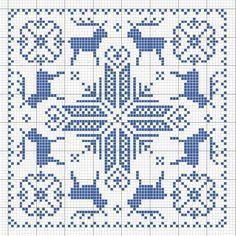 Crochet Cross Stitch Patterns | Biscornu. | charts | Pinterest