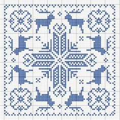 Crochet Cross Stitch Patterns | Biscornu. | charts | Pinterest