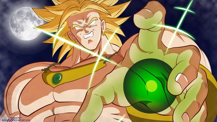 Broly - The Legendary Super Saiyan, Know Fear! This is from Broly Second Coming, right before the epic clash of Broly's Eraser Cannon vs Goku, Gohan and Gotens Kamehameha! With this piece I tried s...