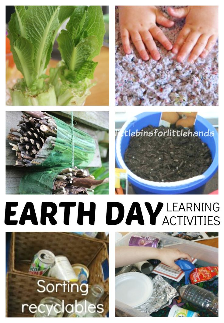 Earth day science activities and experiments for preschool, kindergarten, and grade school age kids. Great Spring science activities for Earth Day learning.