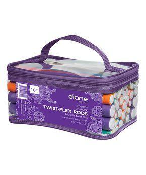 30-Piece Twist-Flex Curling Rod & Carrying Case Set