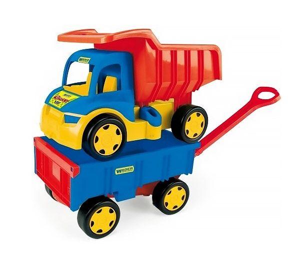 Gigant Truck - Wywrotka + Przyczepa Wader 65100  #wader #wywrotka #supermisiopl