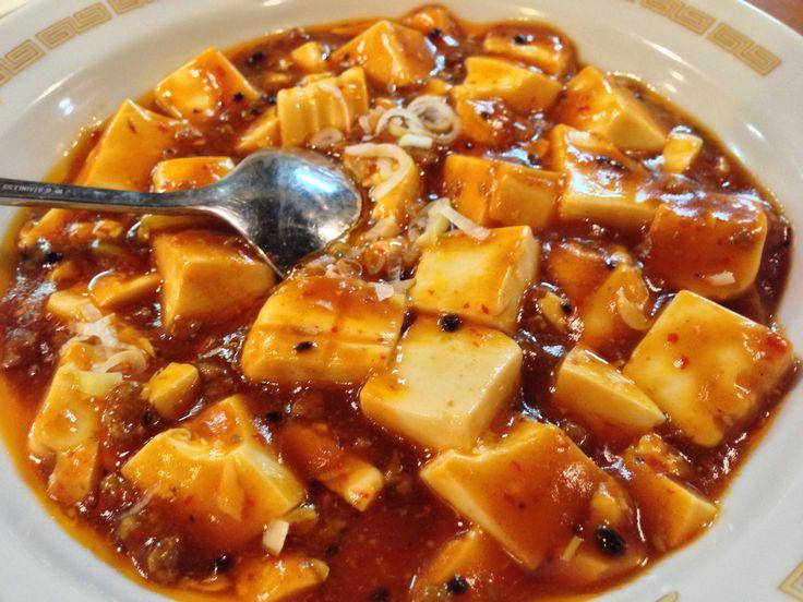 横浜中華街、優味彩の麻婆豆腐