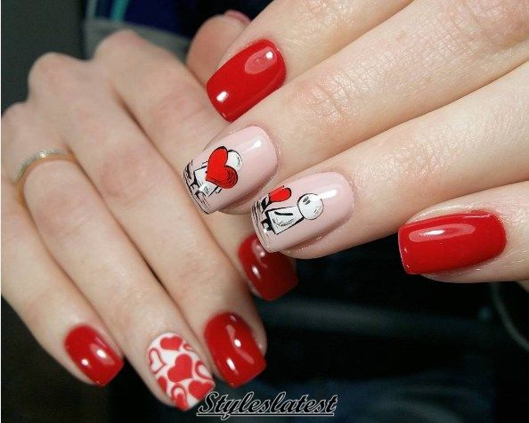 Red and love