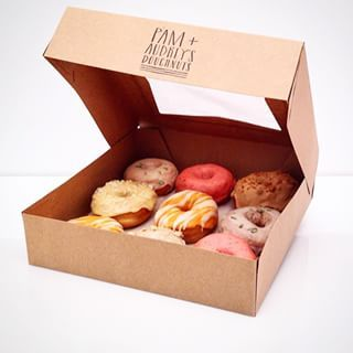 Pam and Audrey's donut delivery