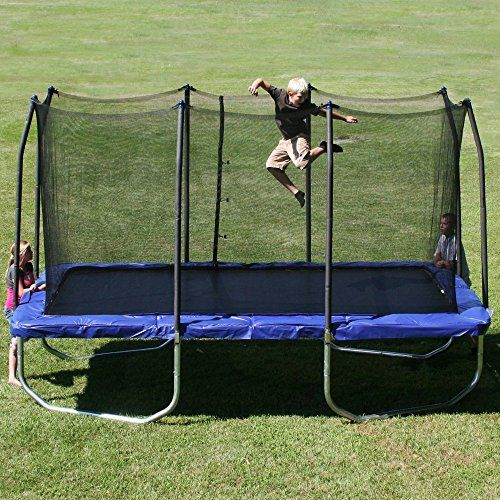 Skywalker 15-Feet Rectangle Trampoline Review - Trampolines For You