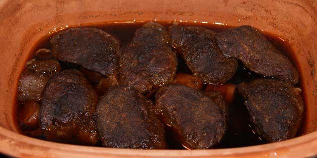 Det bedst kød jeg nogensinde har lavet... Se opskriften på svinekæber i stegeso - pulled pork style!