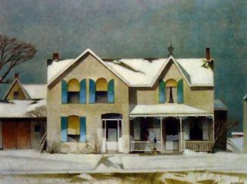 First Snow ~ A.J. Casson