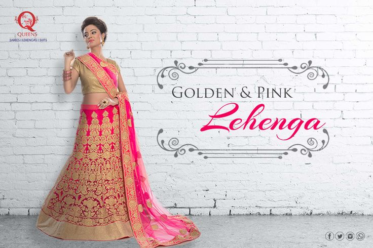 Shop the look from our exclusive store at #MarineLines.   #QueensEmporium #Lehenga #EthnicWear