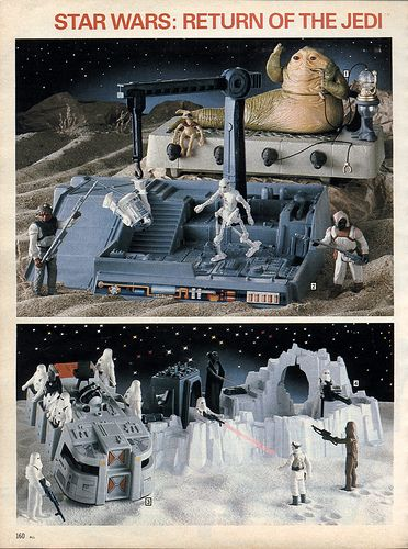 Star Wars Return of the Jedi 1983-xx-xx Sears Christmas Catalog P160