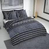 Nightlife Fresh Dekbedovertrek Indigo Grijs - 240x200/220