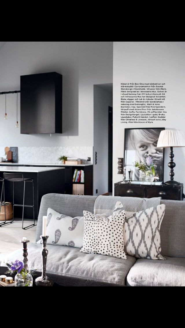 'Villa Holmberg' in Plaza Interiör magazine